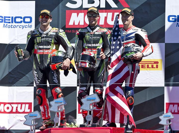 Race One Podium laguna Seca