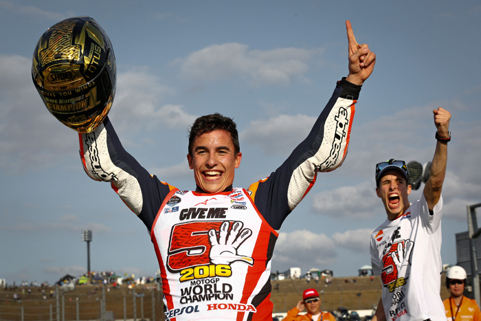 Marc marquez 2016 MotoGP World Champion photo