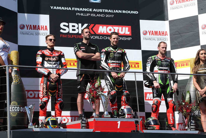 Race One Podium