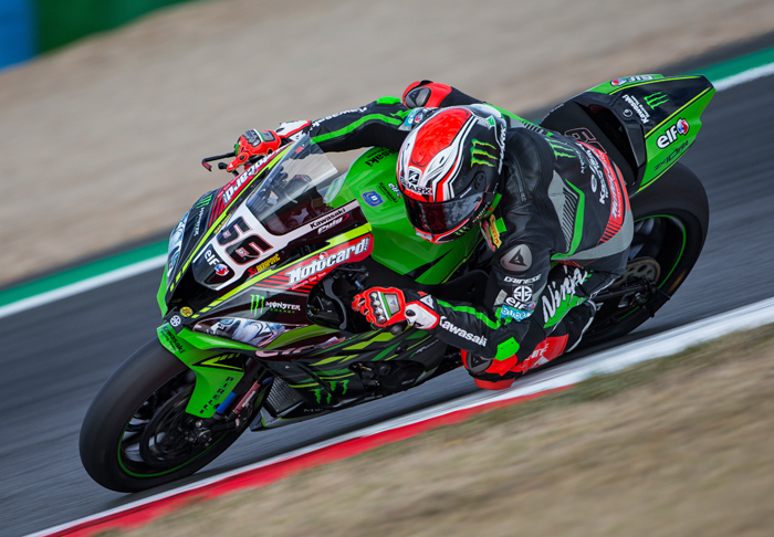 Tom Sykes action magny Cours