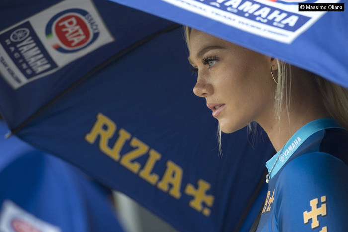 Nancy A, SBK Yamaha Umbrella Girl SBK
