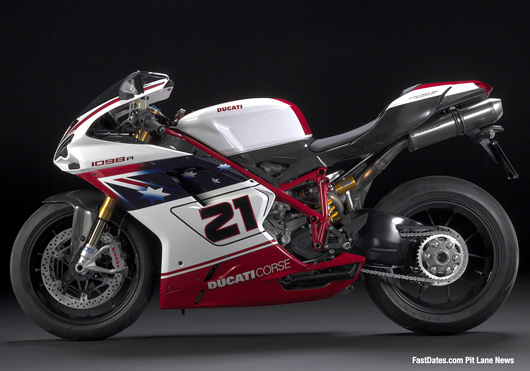 Ducati 1098R08 Troy Bayliss Replica