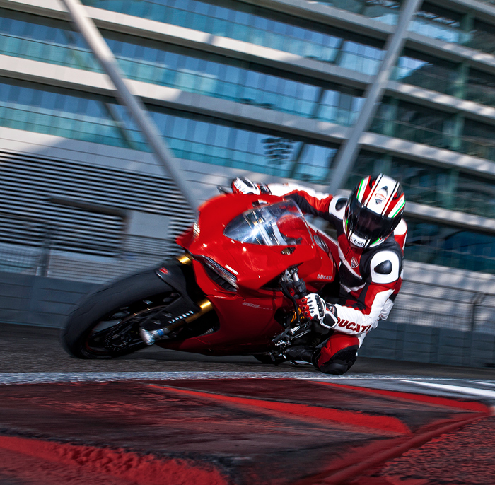Ducati 1199S Panigale Track test photo