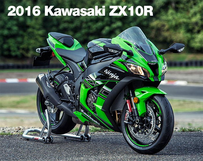 New 2016 Kawasaki ZX10R photos and information