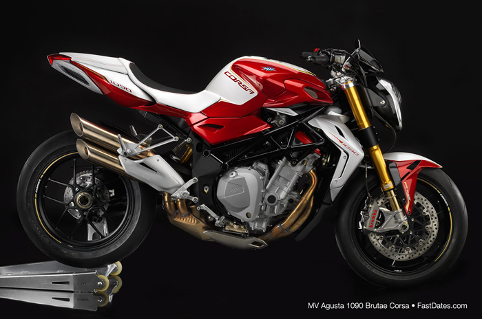 MV Agusta F4RR white hi resolution photo