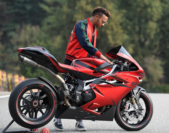 Lewis Mamilton MV Agusta Special Edition photo picture