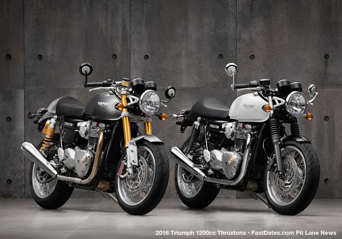 Triumph 2016 Thruxton Photos