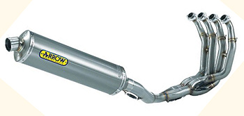 Arrow sportbike exhaust systems