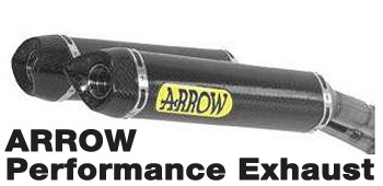 Arrow carbon Fiber Slip-On Silencers