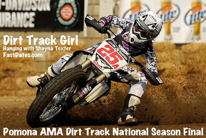 Shayna Texter dirt track racing feature editorial