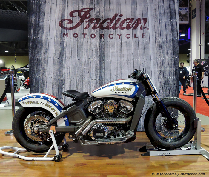 Indian Scout Tracker