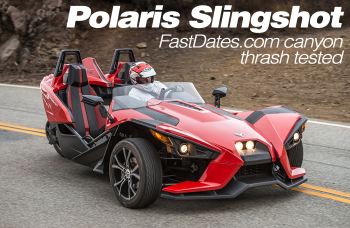 Polaris Slingshot 3-Wheeler Test