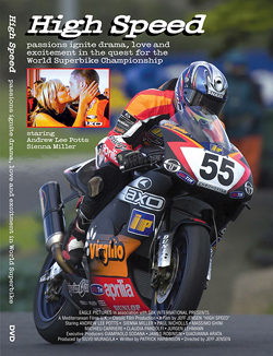 High Speed World Superbike feature movie drama with Sienna Miller DVD